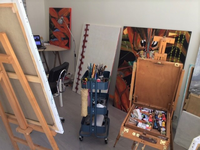 Atelier de l'artiste peintre Alice01001100